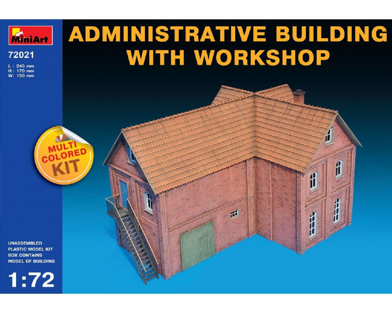 1/72 Administrative Building with Workshop