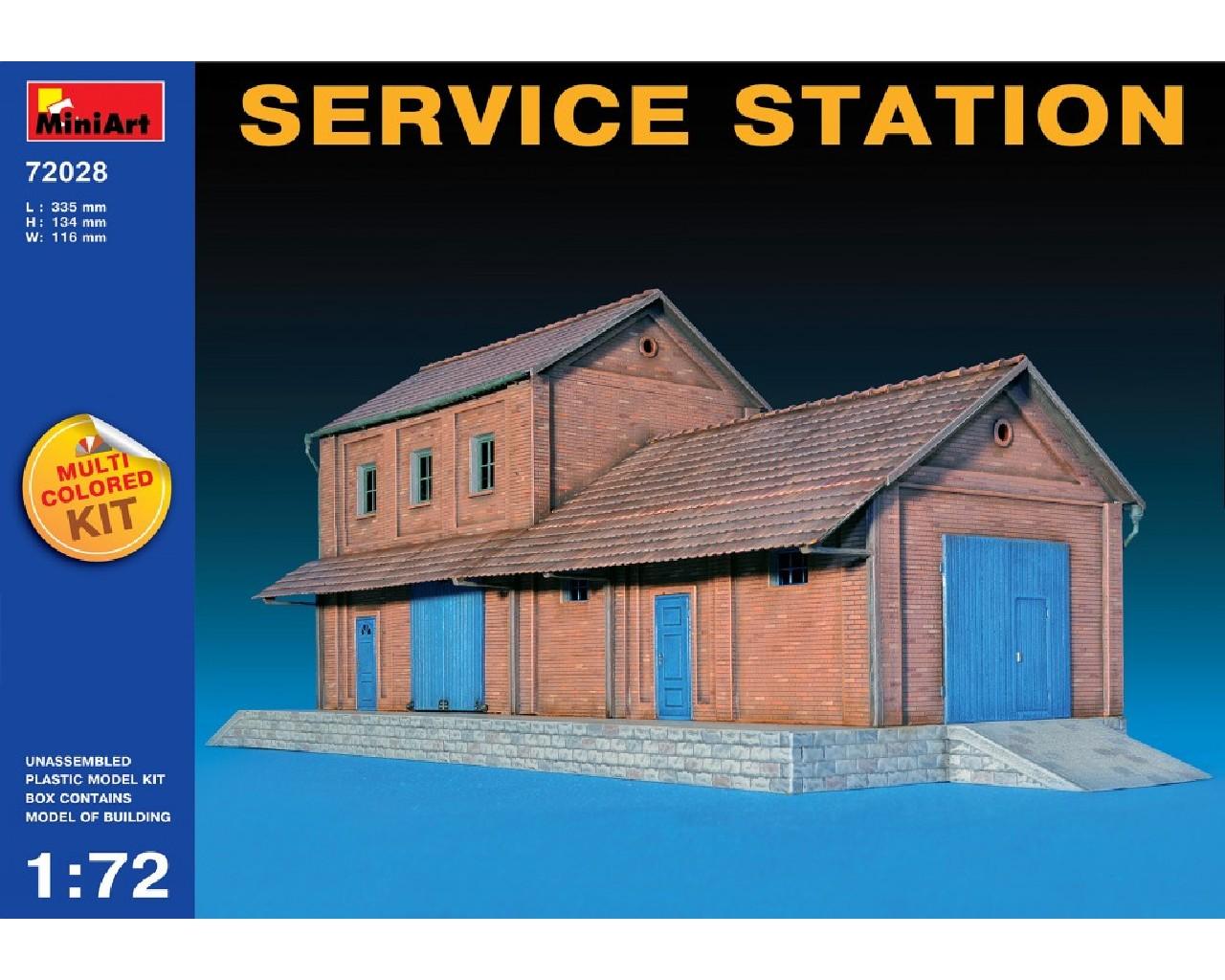 1/72 Service Station
