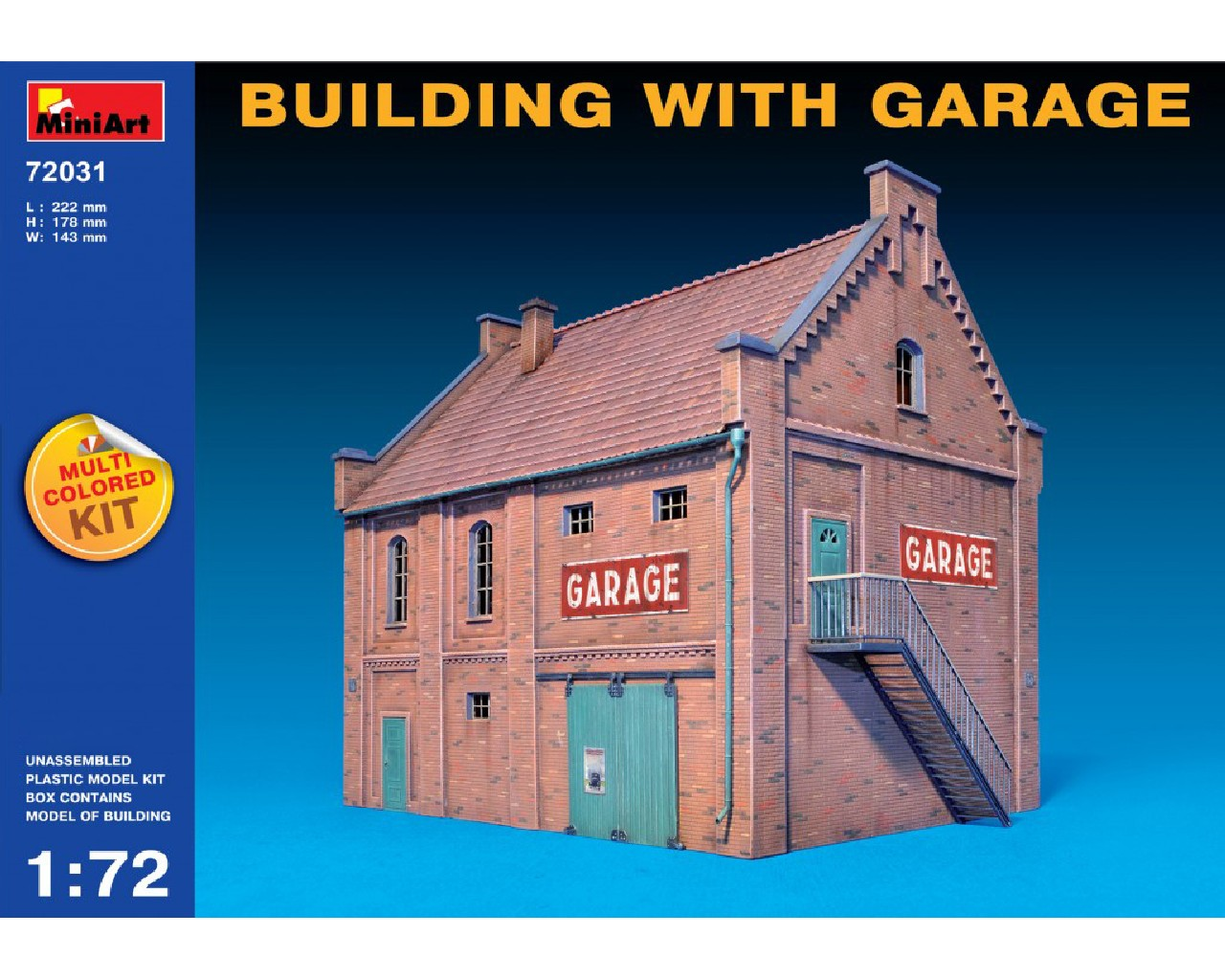 1/72 Building with Garage