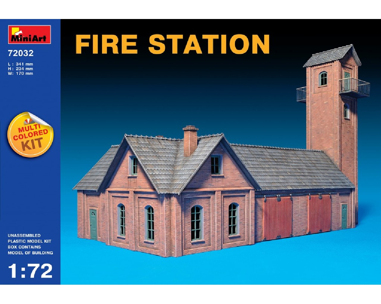 1/72 Fire Station