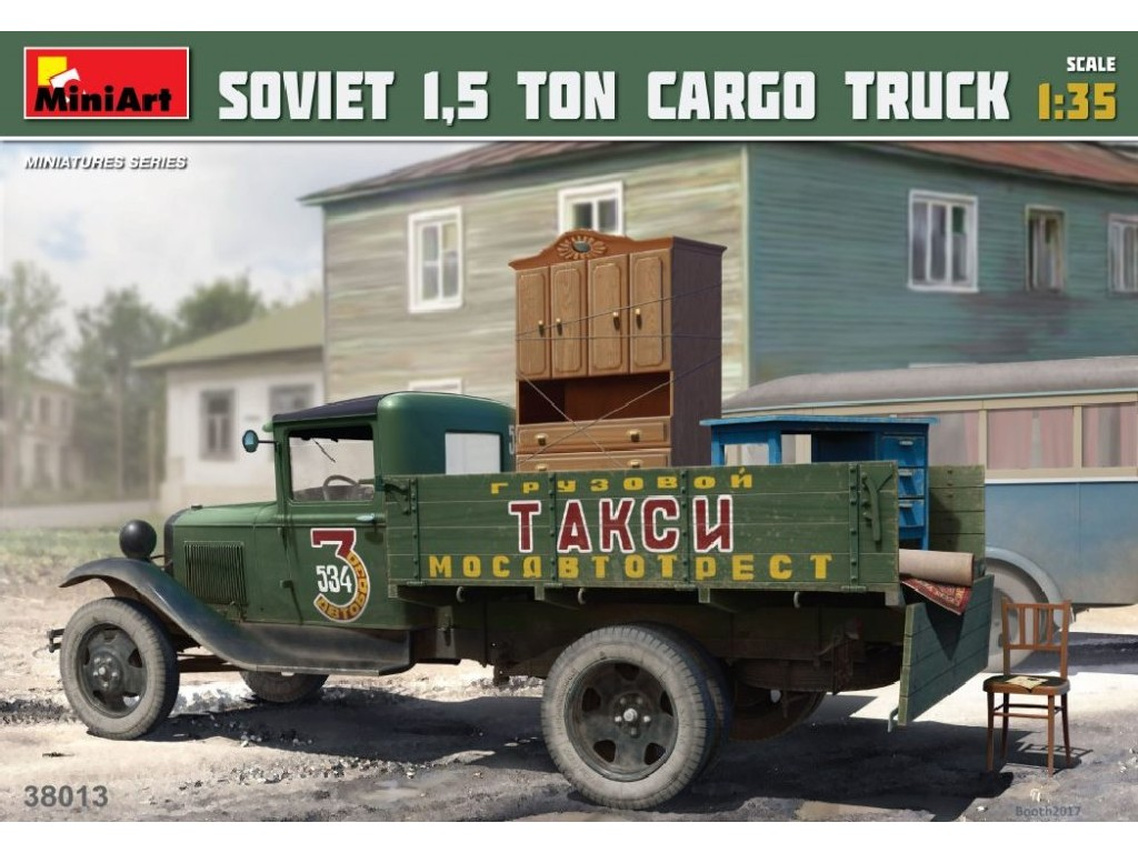1/35 Soviet 1,5 ton Cargo Truck