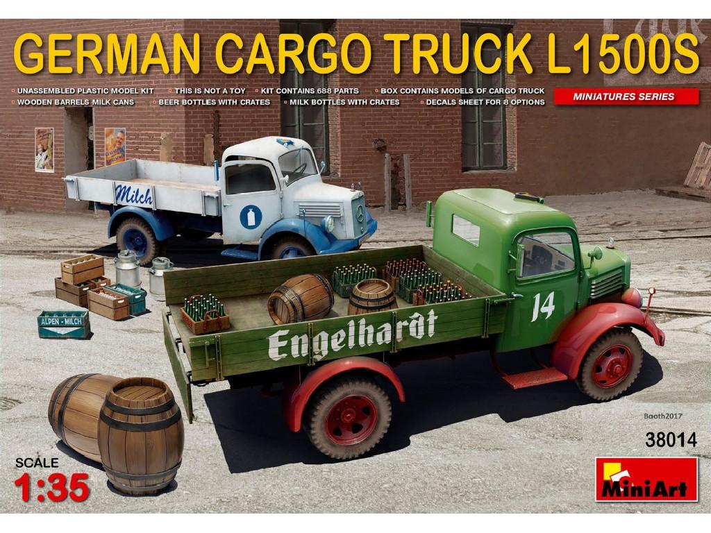 1/35 German Cargo Truck L1500S Type