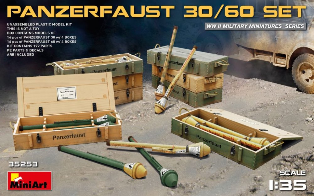 1/35 Panzerfaust 30/60 Set (incl. PE and decals)