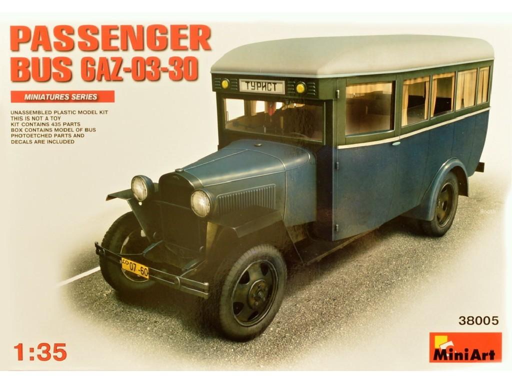 1/35 GAZ-03-30 Passenger Bus