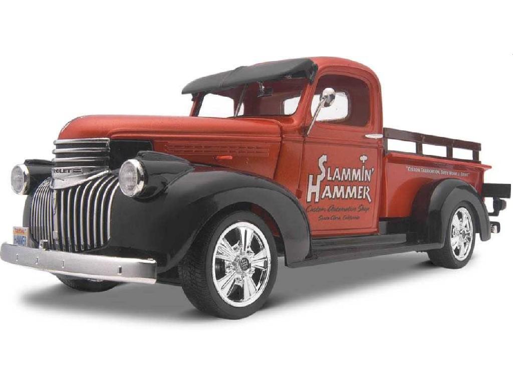 1/25 41 Chevy Pickup 2 n 1