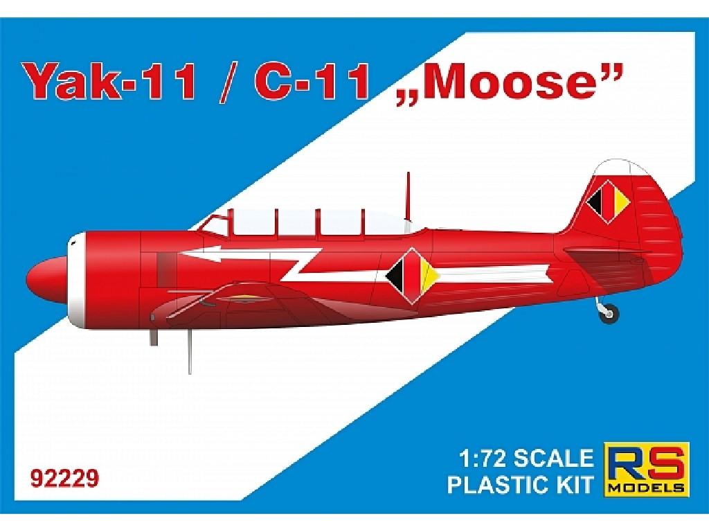 1/72 Yak-11/C-11 Moose