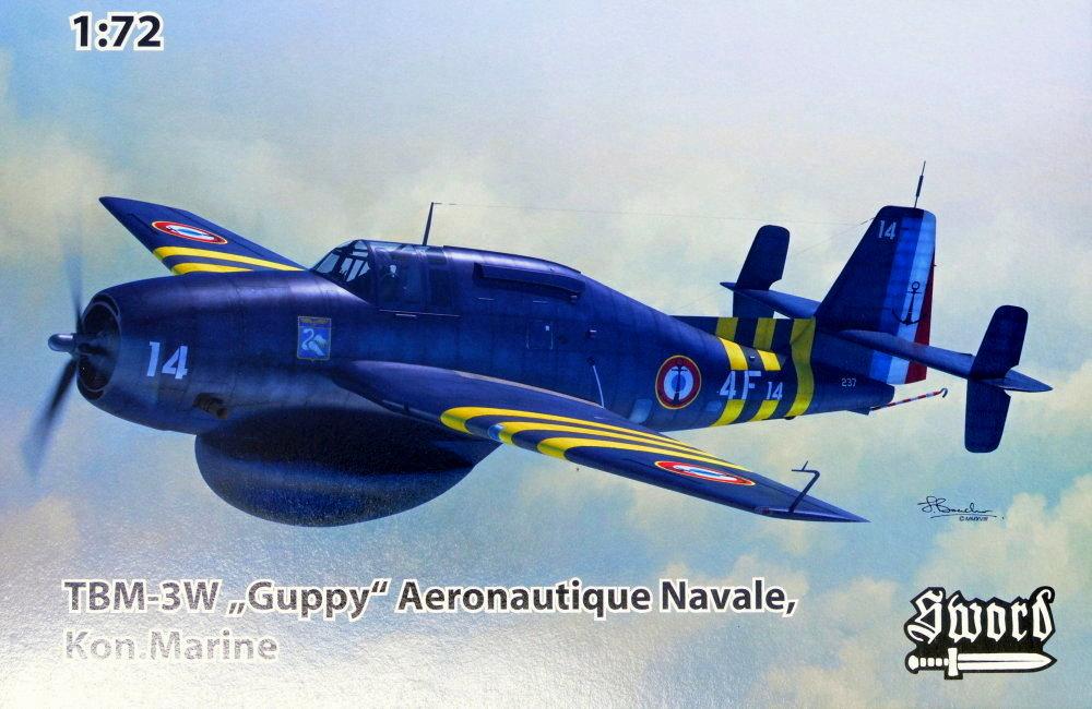 1/72 TBM-3W Guppy (France, Netherlands)