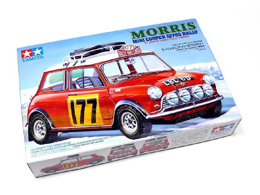 1/24 Mini Cooper Rally 67 Monte Carlo
