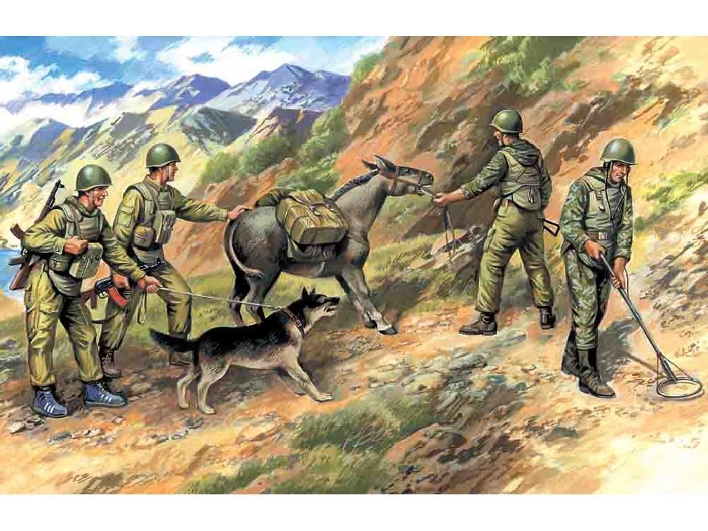 1/35 Soviet sappers (Soviet-Afghan War 1979-88)