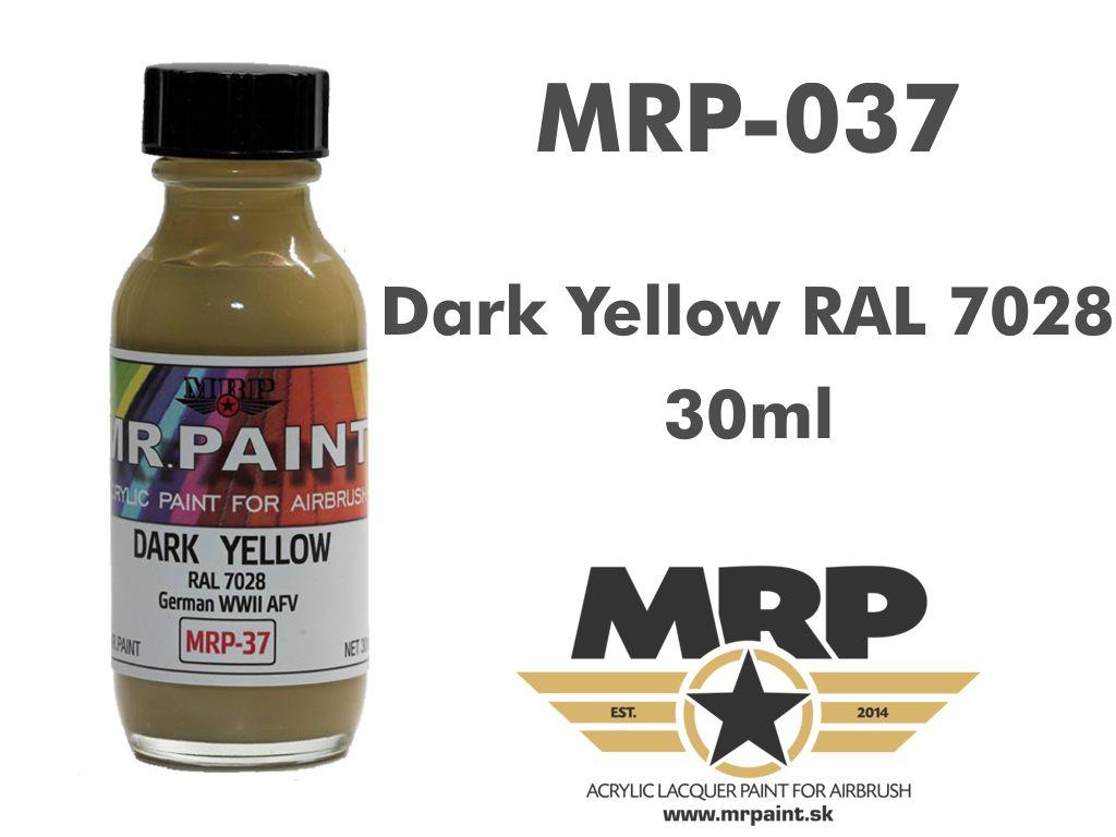 MR.Paint 037 Dark Yellow RAL 7028 30ml