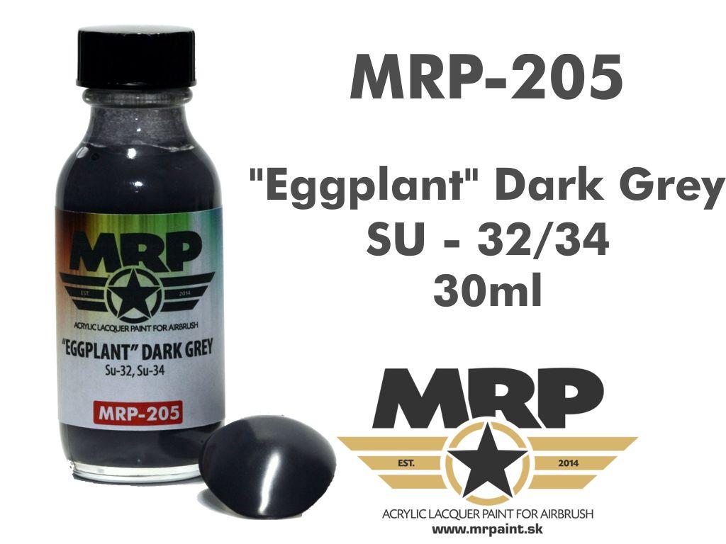 MR.Paint 205 Eggplant Dark Grey - Blue SU-34