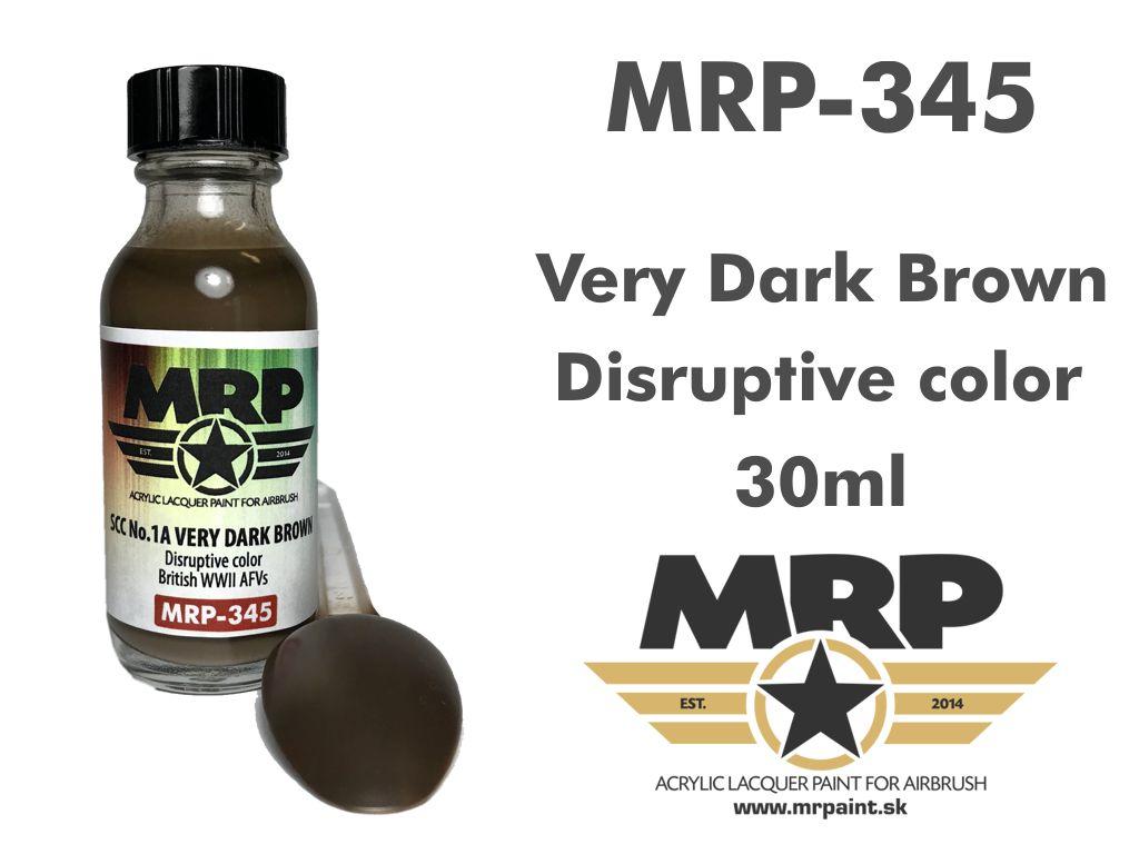 MR.Paint 345 SCC No.1A Very Dark Brown