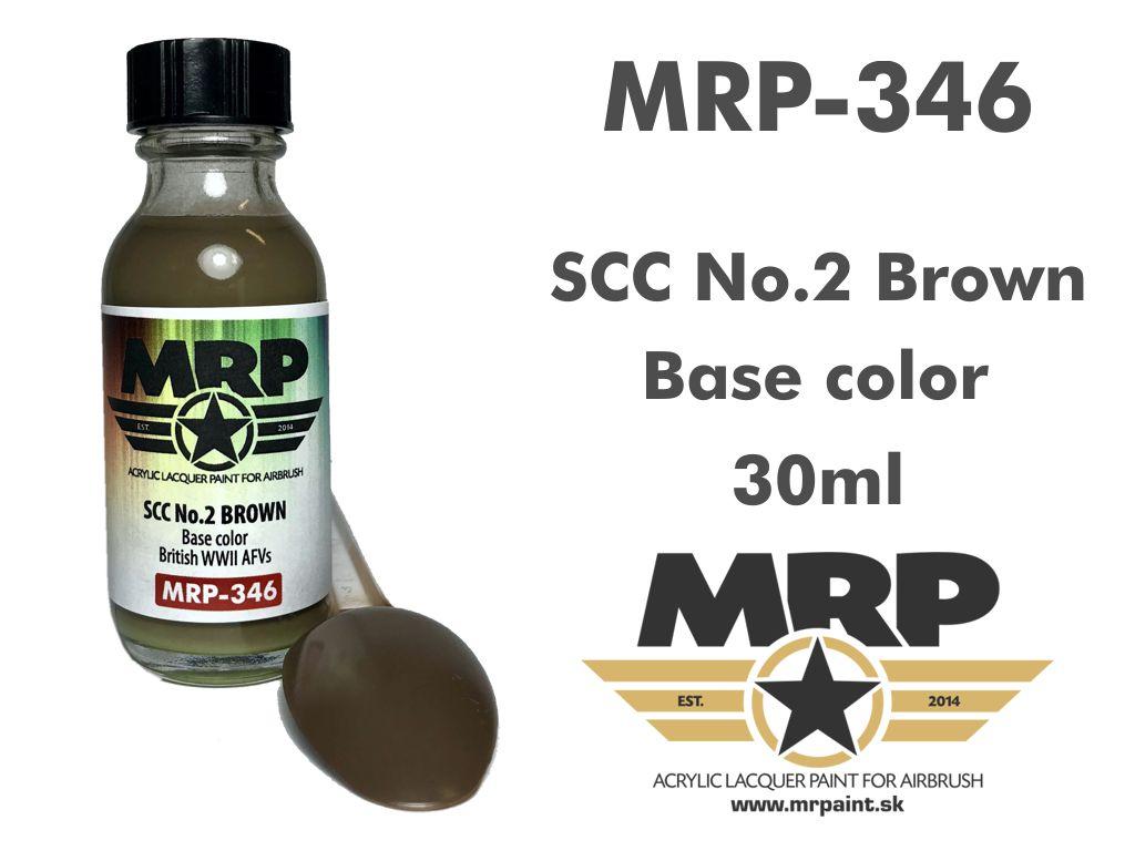 MR.Paint 346 SCC No.2 Brown