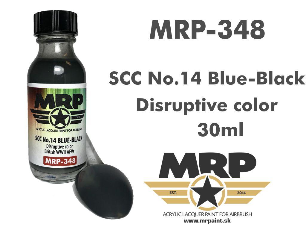 MR.Paint 348 SCC No.14 Blue-Black