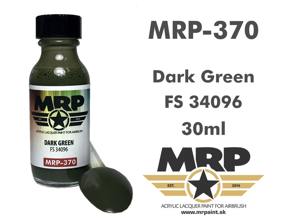 MR.Paint 370 Dark Green FS34096