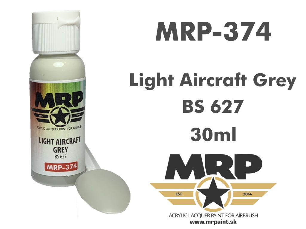 MR.Paint 374 Light Aircraft Grey BS627