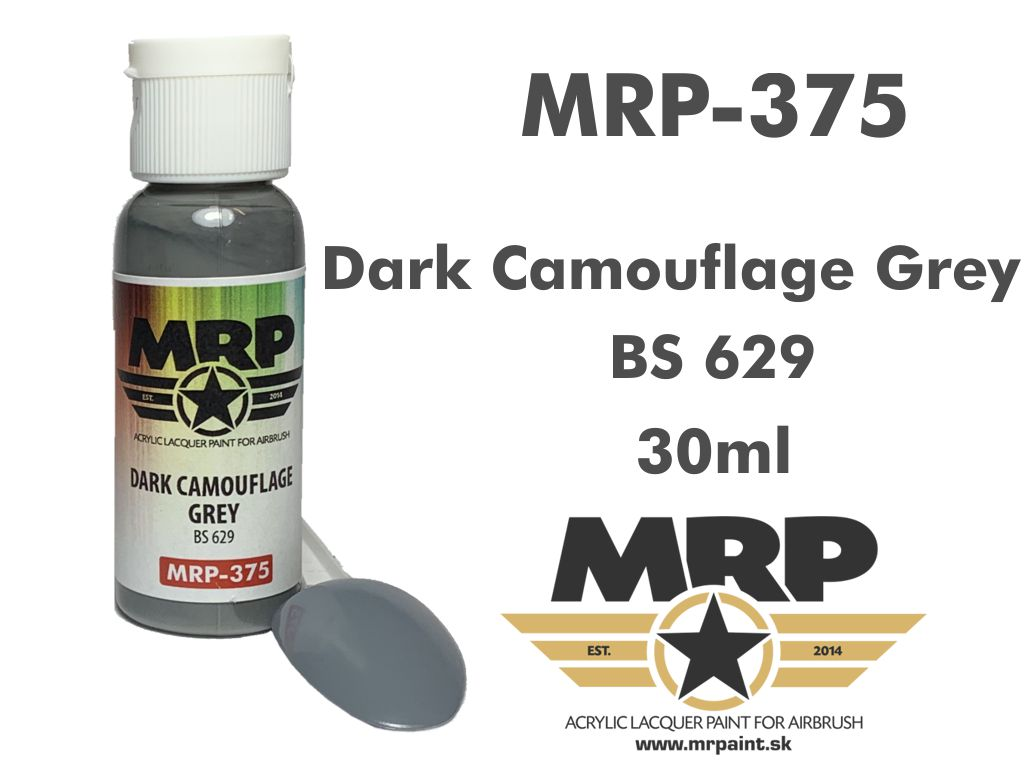 MR.Paint 375 Dark Camouflge Grey BS629