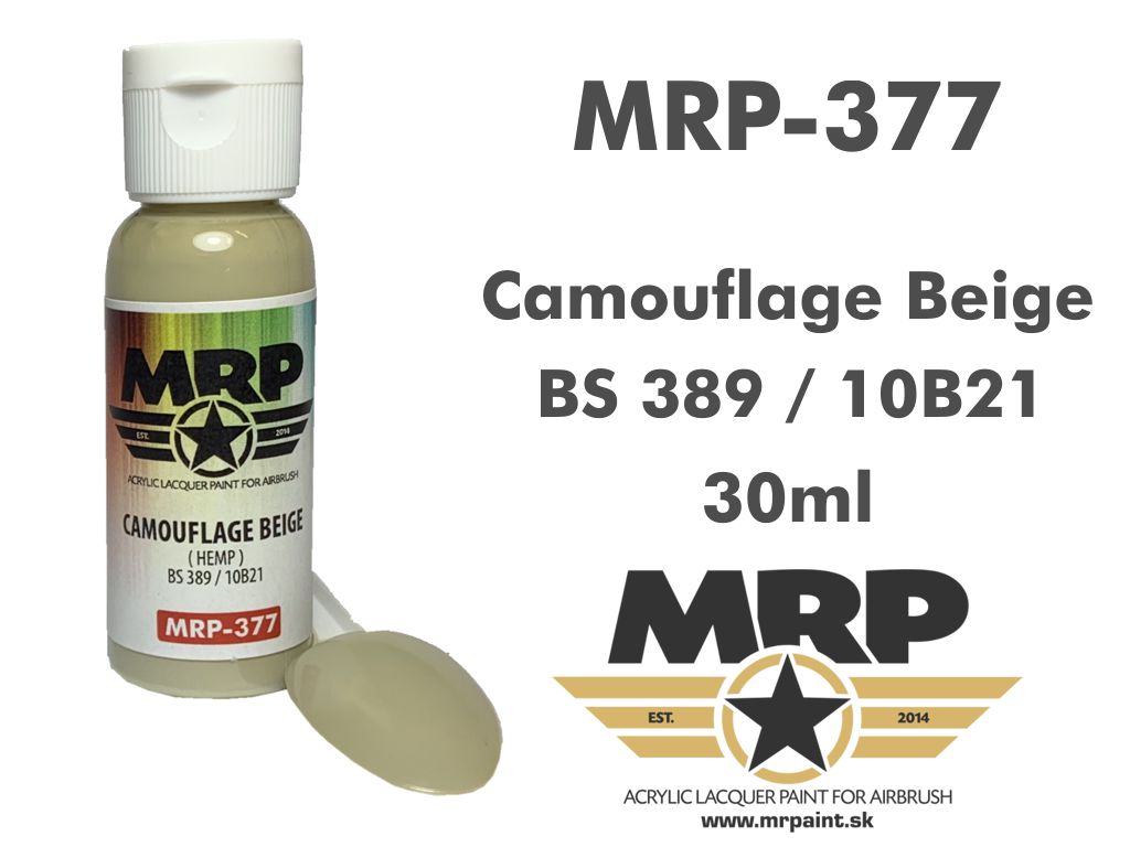 MR.Paint 377 Camouflage Beige BS389