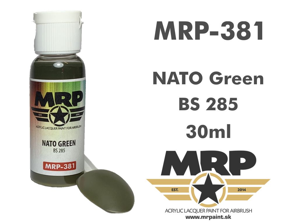 MR.Paint 381 NATO Green BS285