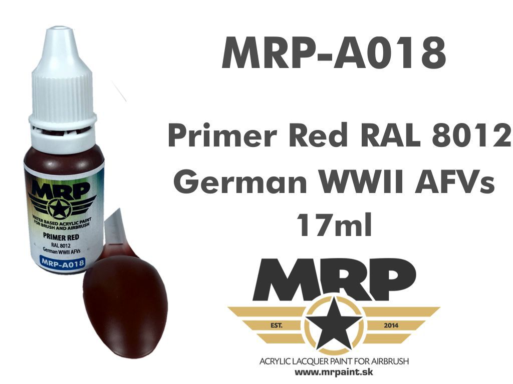 MR.Paint A018 Primer Red RAL 8012 17ml