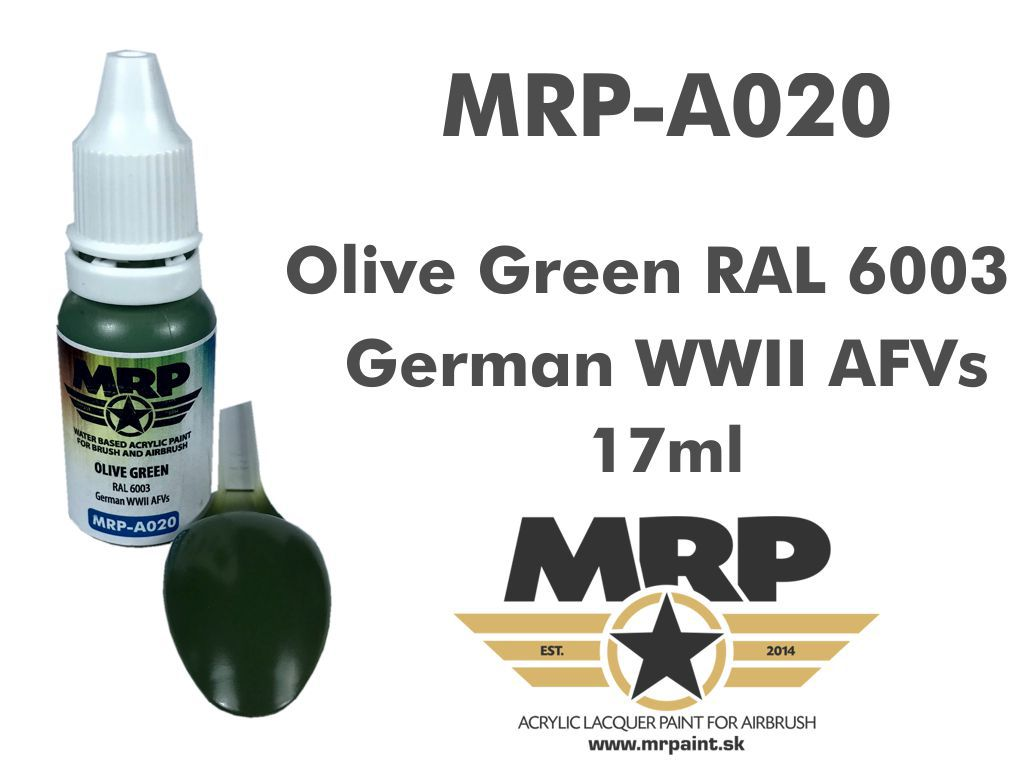 MR.Paint A020 Olive Green RAL 6003 17ml