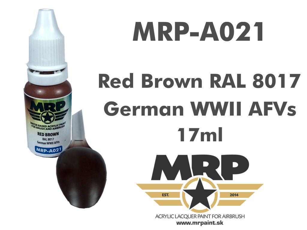 MR.Paint A021 Red Brown RAL 8017 17ml