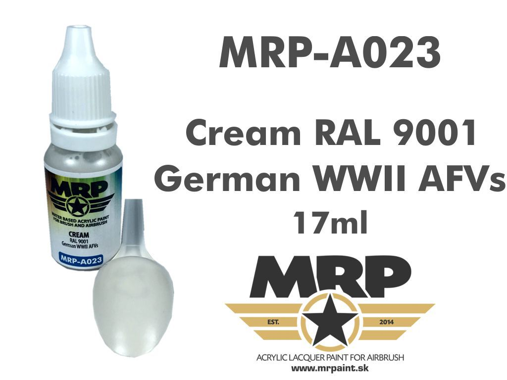 MR.Paint A023 Cream RAL 9001
