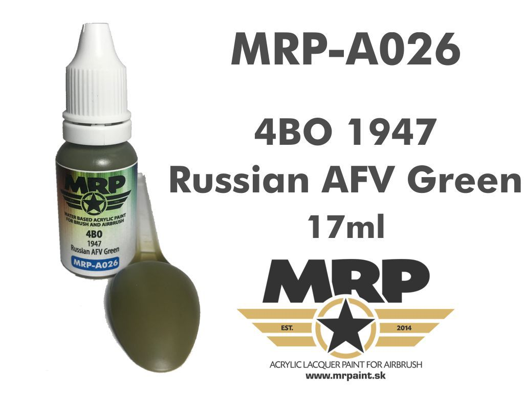 MR.Paint A026 4BO 1947 Russian AFV Green