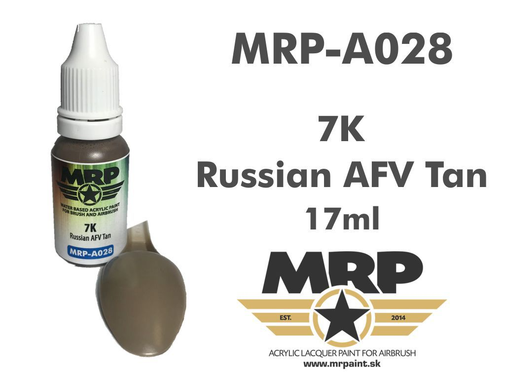 MR.Paint A028 7K Russian AFV Tan