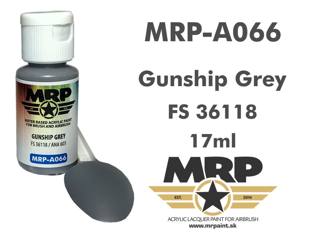 MR.Paint A066 Gunship Grey FS363118