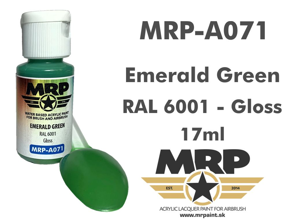 MR.Paint A071 Emerald Green RAL 6001