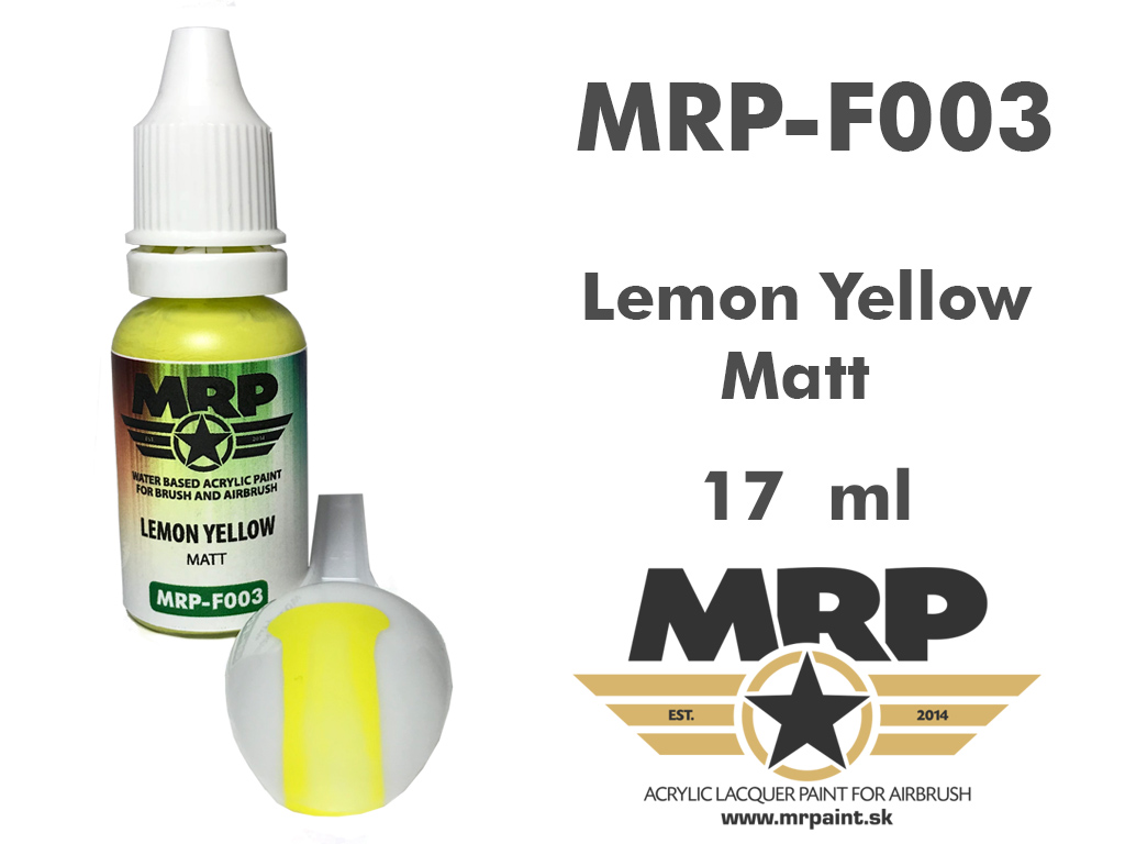 MR.Paint F003 Lemon Yellow 17ml