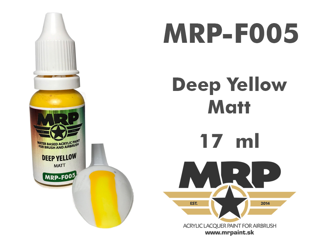 MR.Paint F005 Deep Yellow 17ml