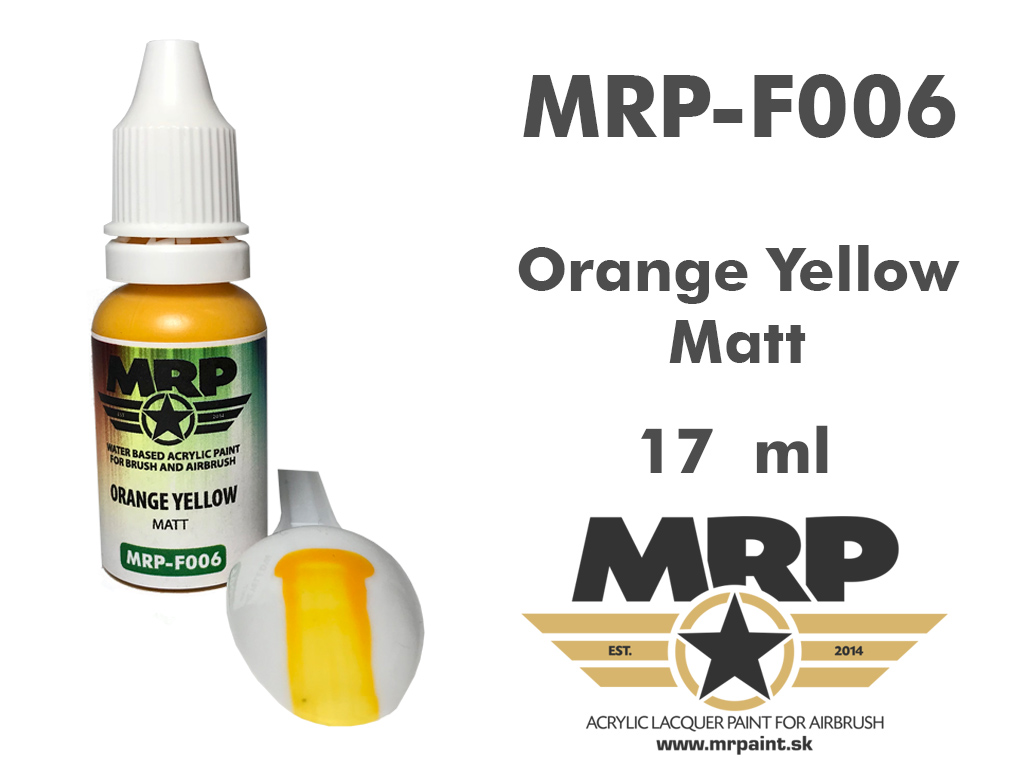 MR.Paint F006 Orange Yellow 17ml