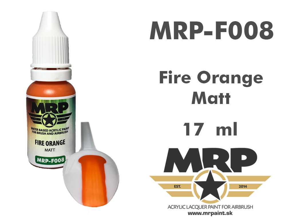 MR.Paint F008 Fire Orange 17ml