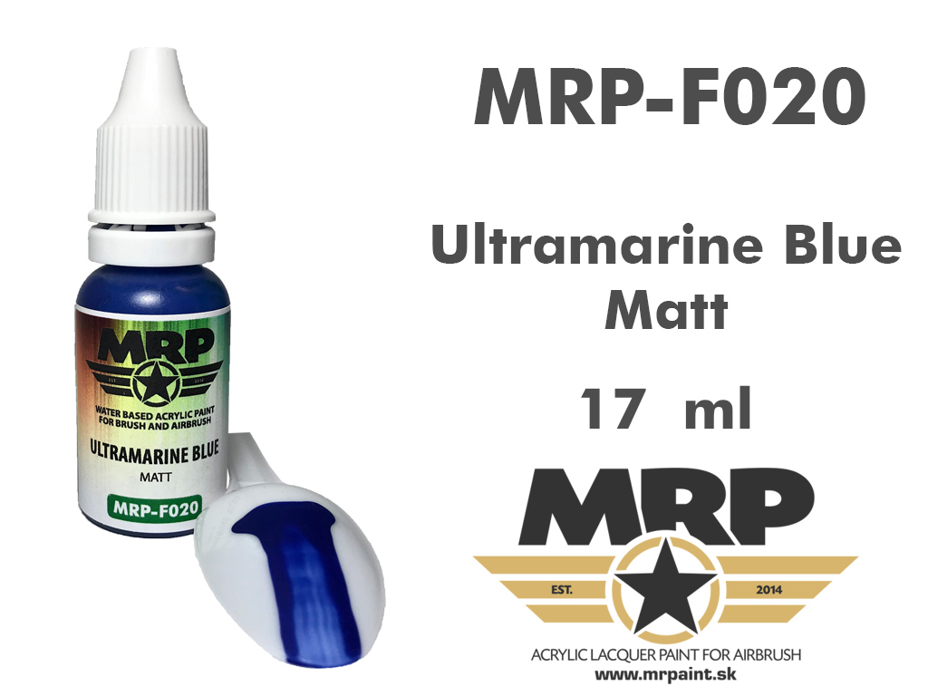 MR.Paint F020 Ultramarine Blue 17ml