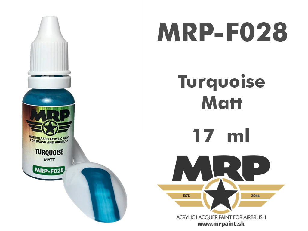 MR.Paint F028 Turquoise 17ml