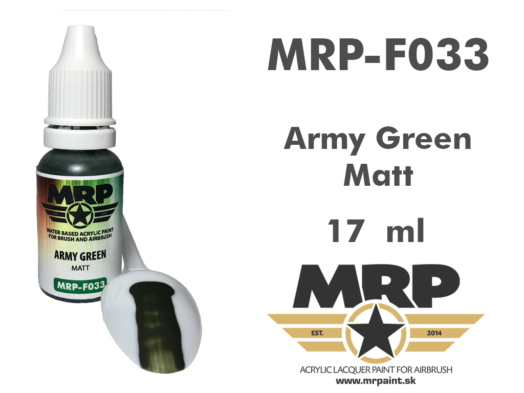 MR.Paint F033 Army Green 17ml