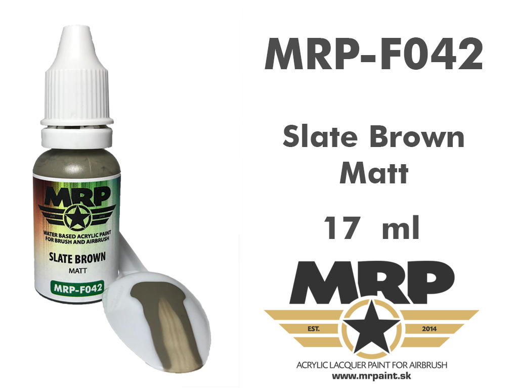 MR.Paint F042 Slate Brown 17ml