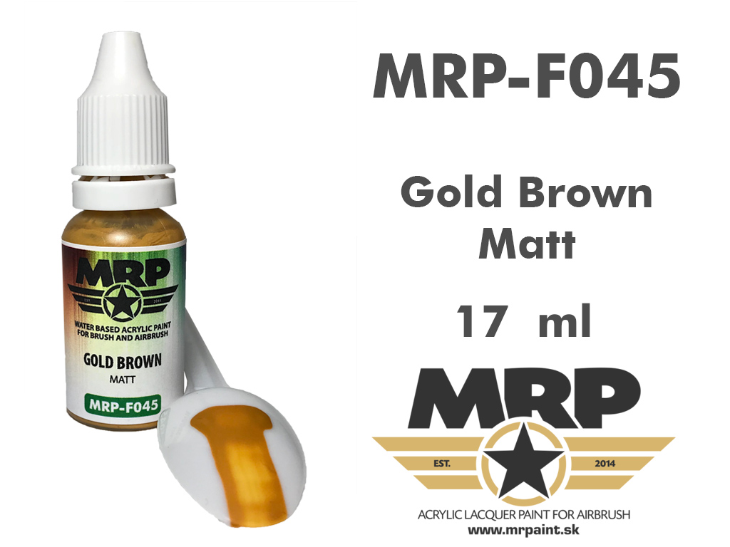 MR.Paint F045 Gold Brown 17ml