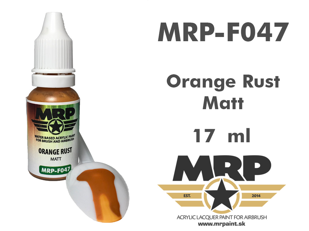 MR.Paint F047 Orange Rust 17ml