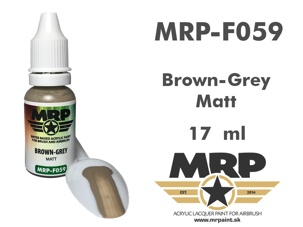 MR.Paint F059 Brown-Grey 17ml