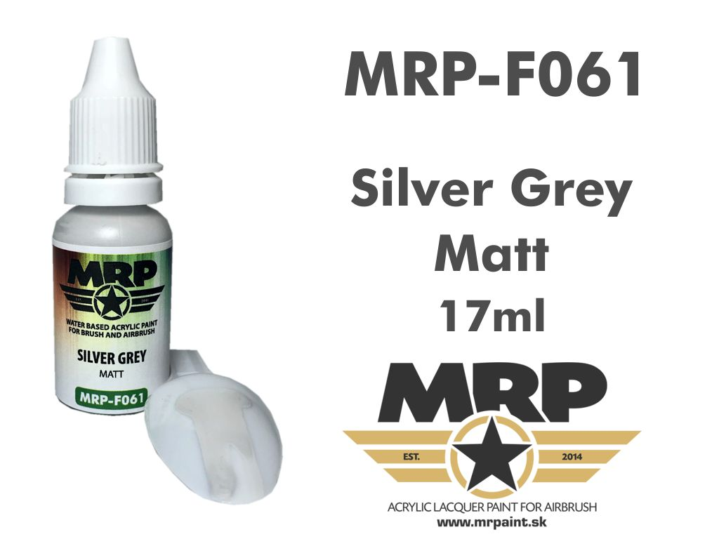 MR.Paint F061 Silver Grey 17ml