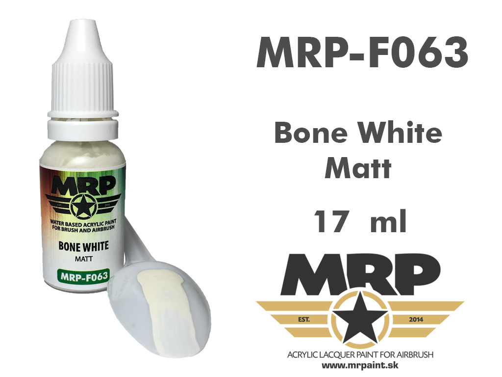 MR.Paint F063 Bone White 17ml