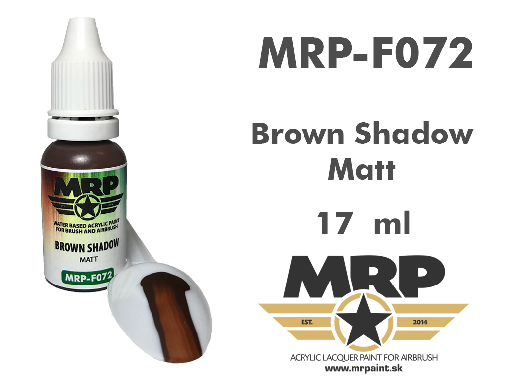 MR.Paint F072 Brown Shadow 17ml