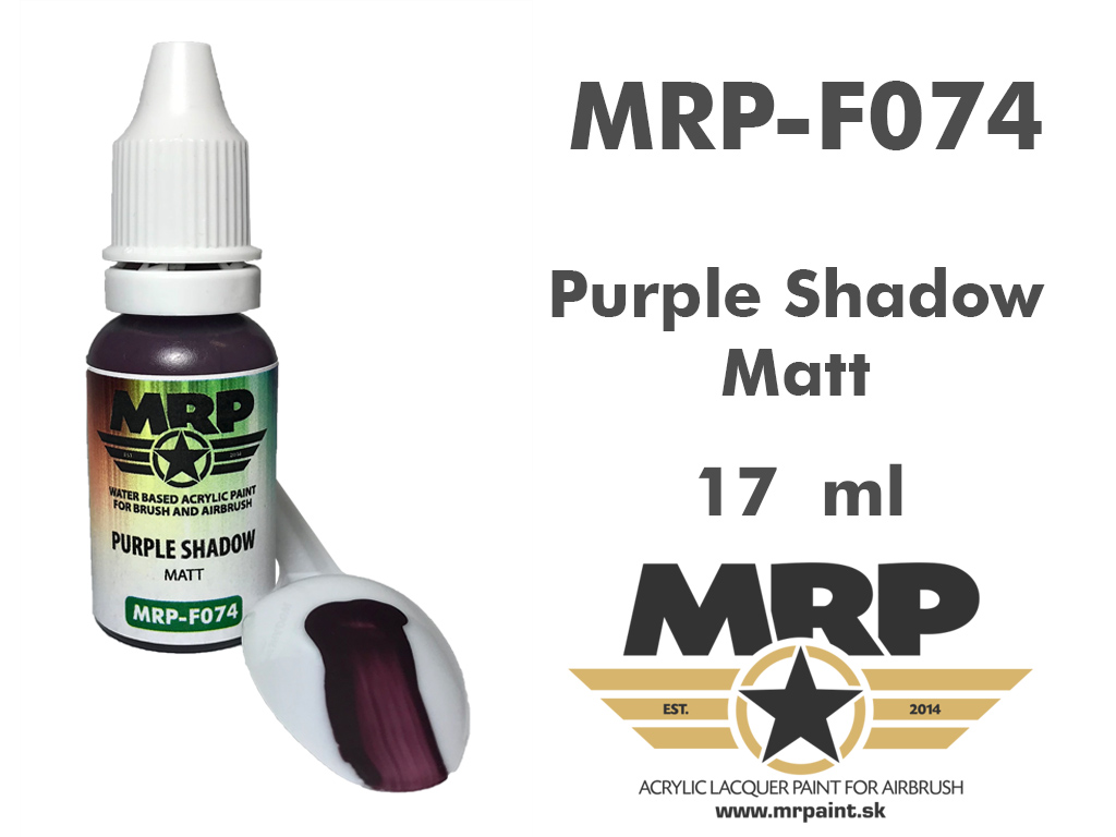 MR.Paint F074 Purple Shadow 17ml
