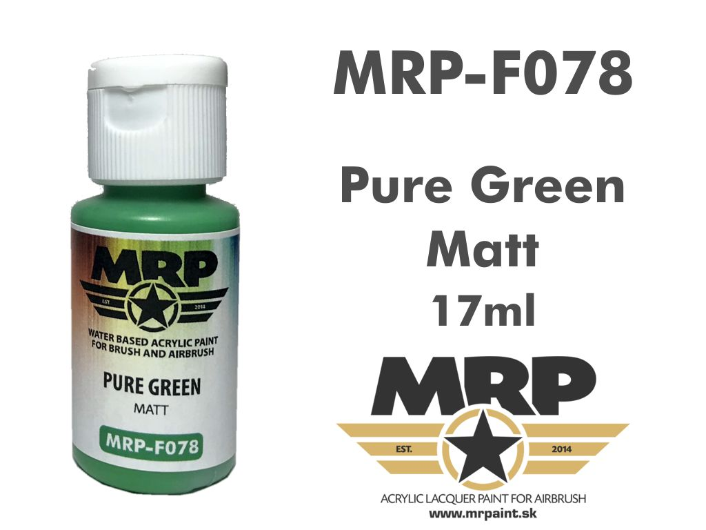 MR.Paint F078 Pure Green 17ml
