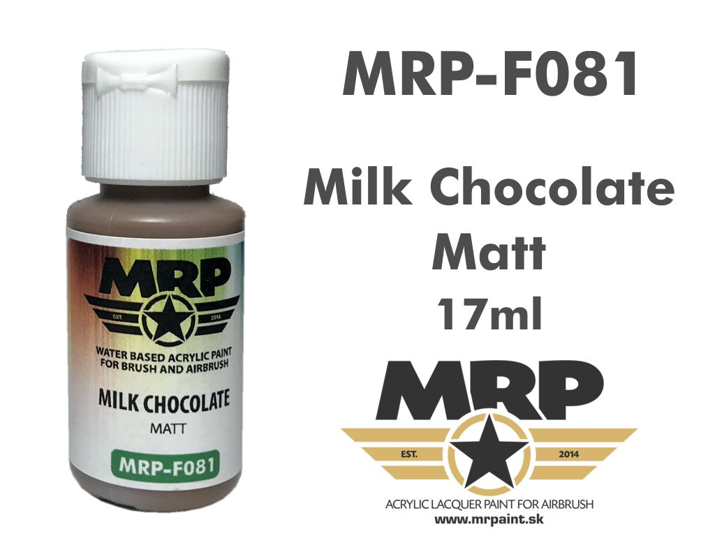 Mr.Paint F081 Milk Chocolate 17ml