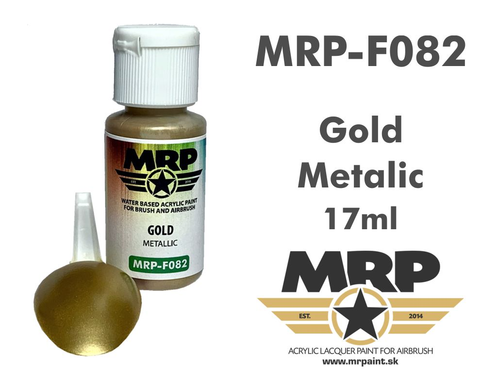 MR.Paint F082 Gold 17ml