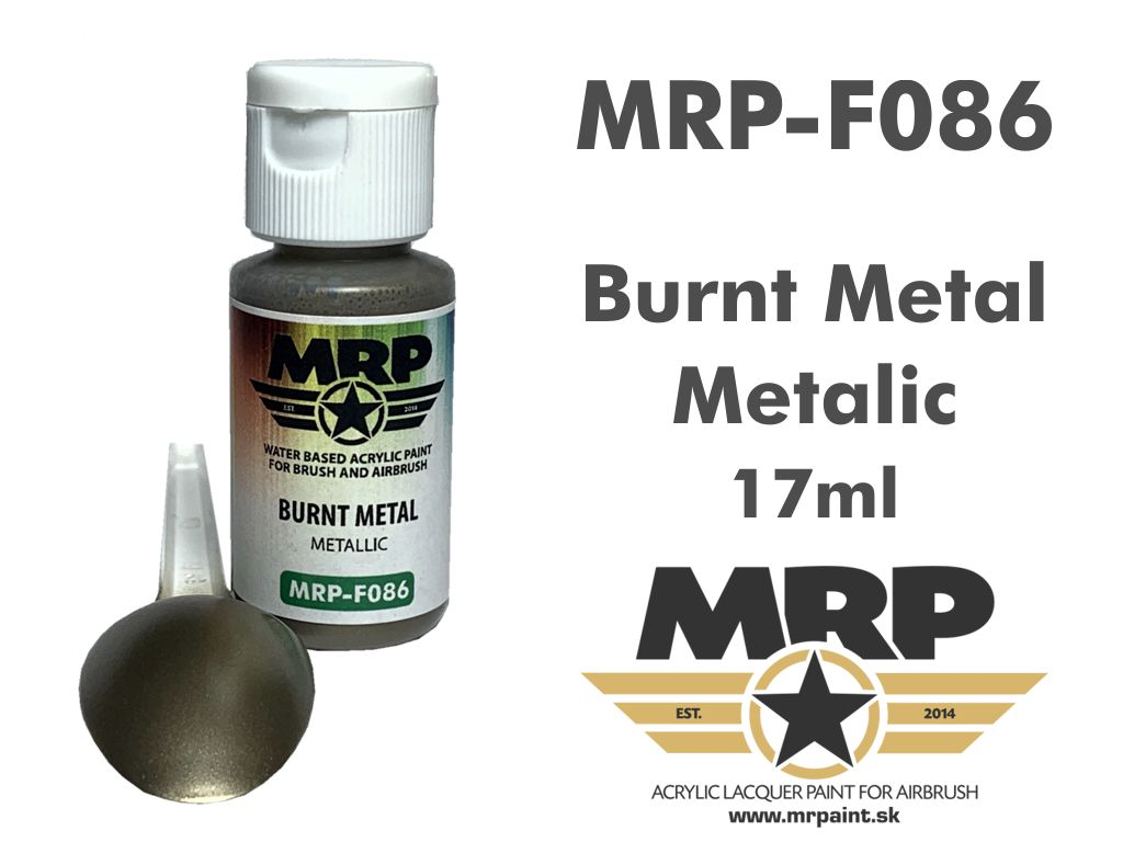 MR.Paint F086 Burnt Metal 17ml